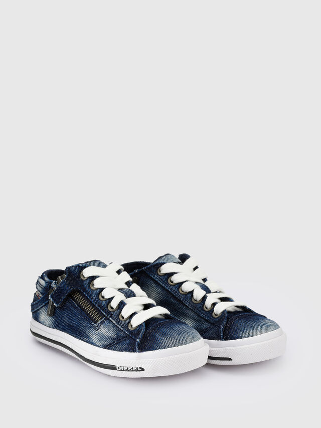 KIDS SN LOW 25 DENIM EXPO, Blue Jeans - Footwear - Image 2