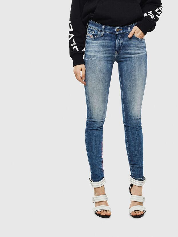Slandy 009CJ, Medium blue - Jeans
