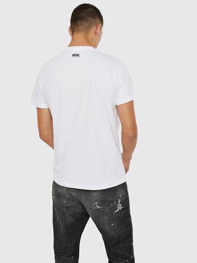 Diesel - T-DIEGO-B10, White - T-Shirts - Image 2