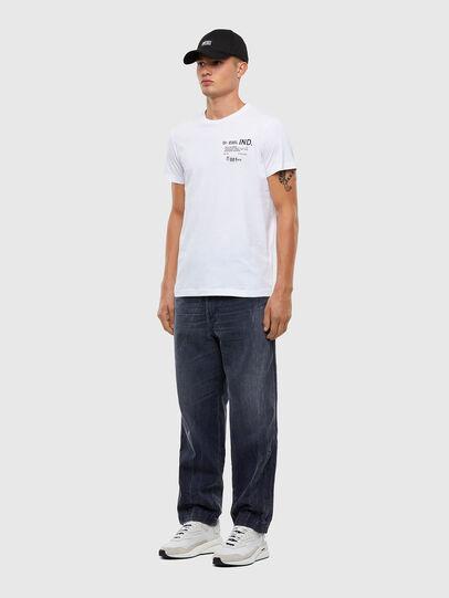 Diesel - T-DIEGOS-N21, White - T-Shirts - Image 5