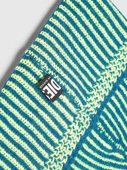 Diesel - K-MANNYS, Blue/Yellow - Knit caps - Image 3