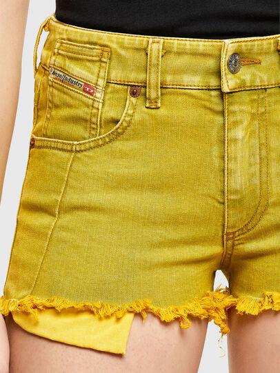 Diesel - DE-BATY-SP1, Yellow - Shorts - Image 3