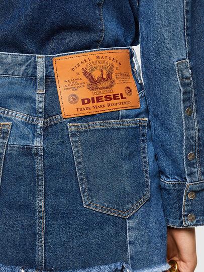 Diesel - DE-DESY-Z1, Medium blue - Dresses - Image 3