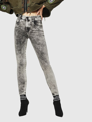 Slandy High 069GQ, Light Grey - Jeans