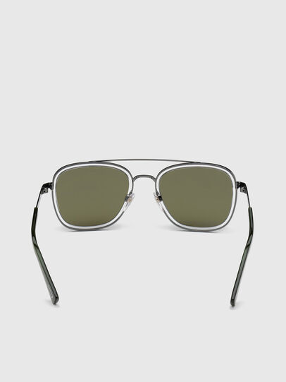 Diesel - DL0320, Green - Sunglasses - Image 4