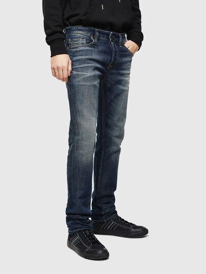 Diesel - Safado 0096U, Dark Blue - Jeans - Image 1