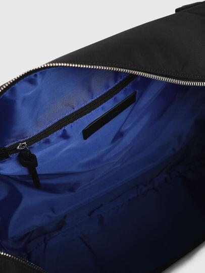 Diesel - M-CAGE DUFFLE M, Black - Travel Bags - Image 5