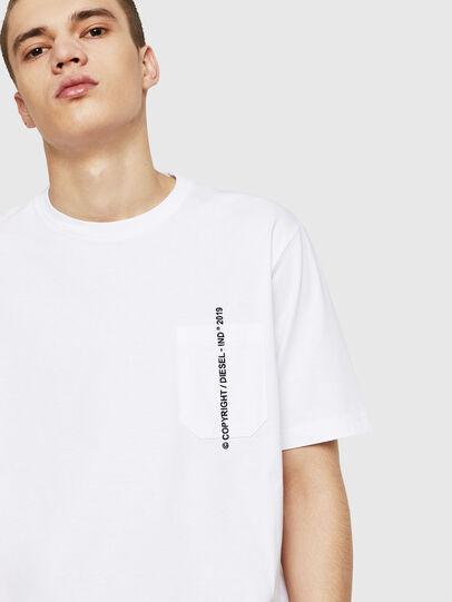 Diesel - T-JUST-POCKET-COPY,  - T-Shirts - Image 4