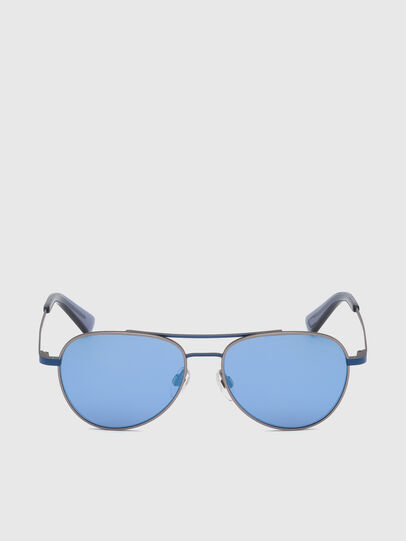 Diesel - DL0291, Blue/Grey - Kid Eyewear - Image 1