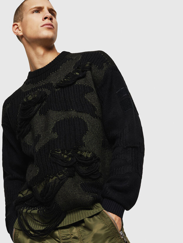 K-MUSCHIO, Black - Knitwear