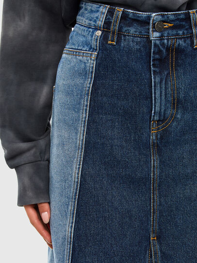 Diesel - DE-PAU-SP, Medium blue - Skirts - Image 4
