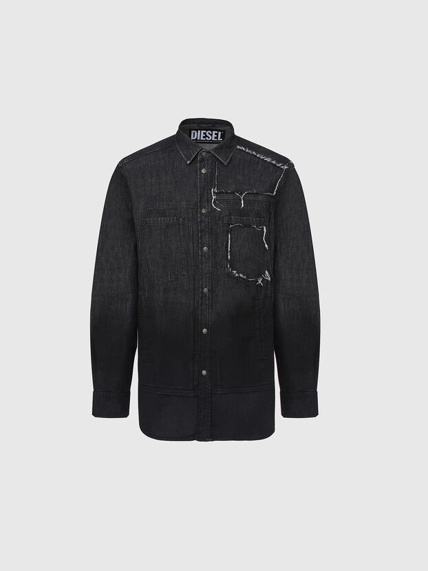 D-NESKY, Black - Denim Shirts