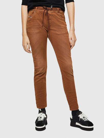 Diesel - Krailey JoggJeans 0670M, Brown - Jeans - Image 1