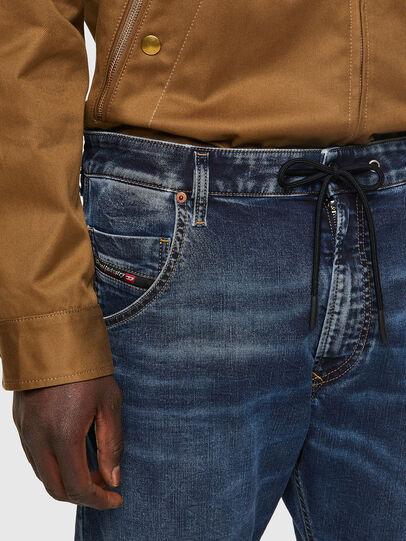 Diesel - Krooley JoggJeans® 069VX, Dark Blue - Jeans - Image 4