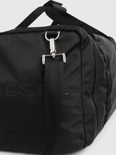 Diesel - M-CAGE DUFFLE M, Black - Travel Bags - Image 6