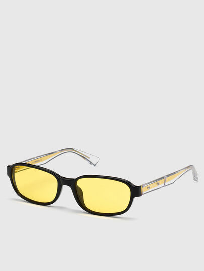 Diesel - DL0326, Yellow - Sunglasses - Image 2