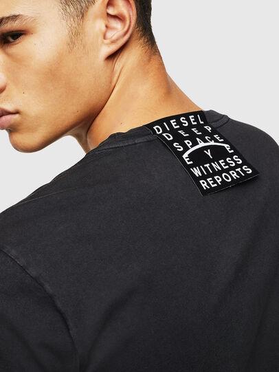 Diesel - T-DIEGO-J5, Black - T-Shirts - Image 6