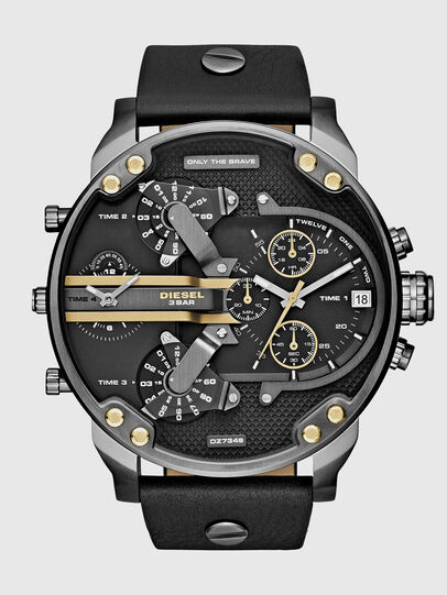 Diesel - DZ7348 MR DADDY 2.0, Black - Timeframes - Image 1