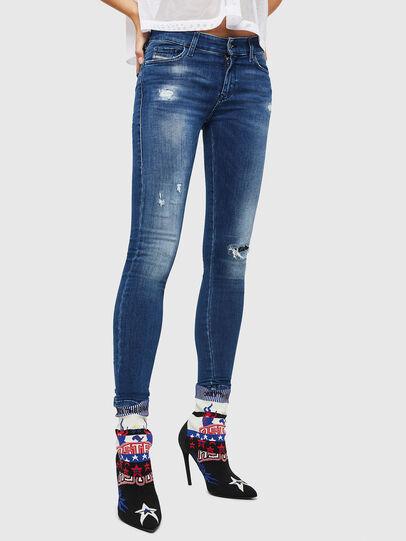Diesel - Slandy 089AI, Medium blue - Jeans - Image 1