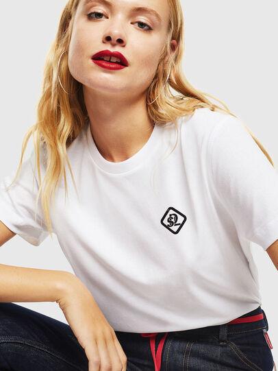 Diesel - CC-T-DIEGO-COLA, White - T-Shirts - Image 5