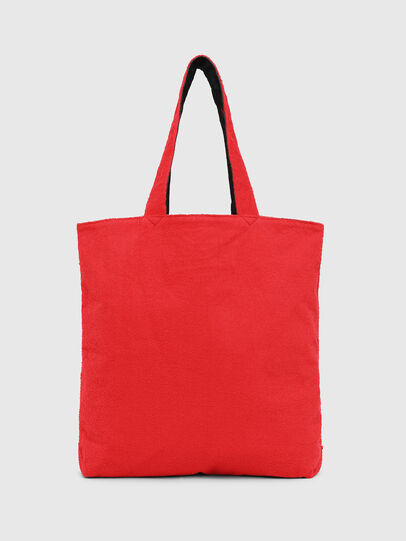 Diesel - F-THISBAG SHOPPER NS, Fire Red - Shopping and Shoulder Bags - Image 2
