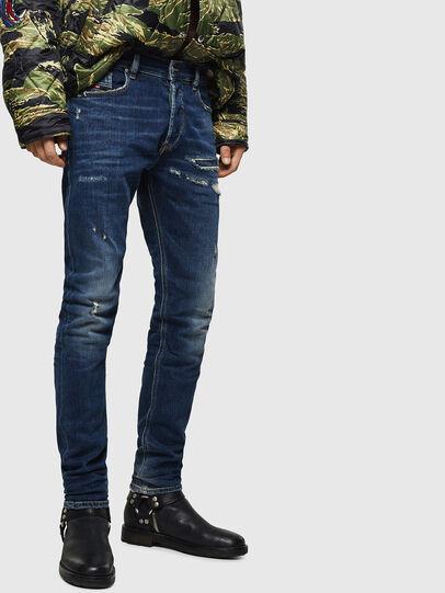 Diesel - Tepphar 0890R, Dark Blue - Jeans - Image 1