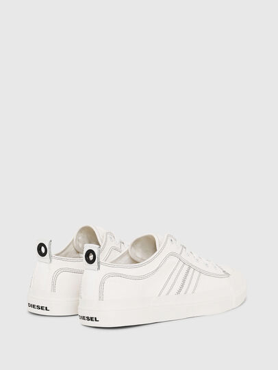 Diesel - S-ASTICO LOW LACE, White - Sneakers - Image 3