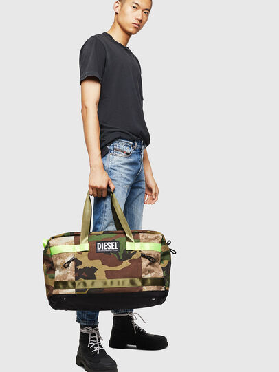Diesel - SOLIGO, Green Camouflage - Travel Bags - Image 7