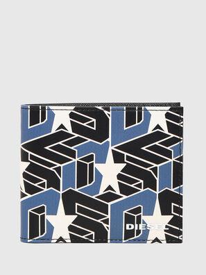 HIRESH S, Black/Blue - Small Wallets