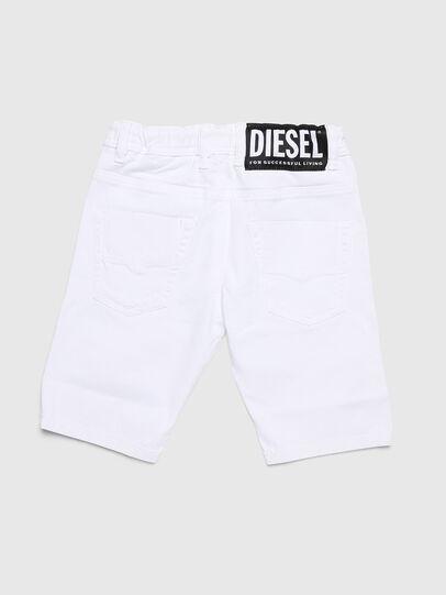 Diesel - KROOLEY-NE-J SH, White - Shorts - Image 2