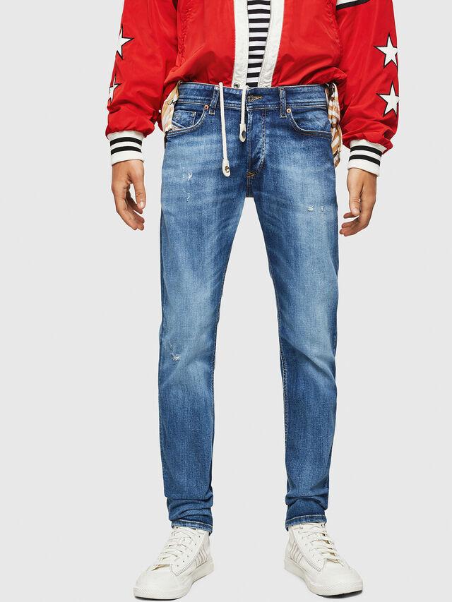 Diesel - Sleenker 069FY, Medium blue - Jeans - Image 1