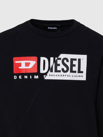 Diesel - S-GIRK-CUTY, Black - Sweaters - Image 3