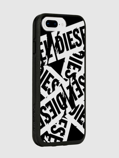Diesel - MULTI TAPE BLACK/WHITE IPHONE 8 PLUS/7 PLUS/6S PLUS/6 PLUS CASE, Black - Cases - Image 6