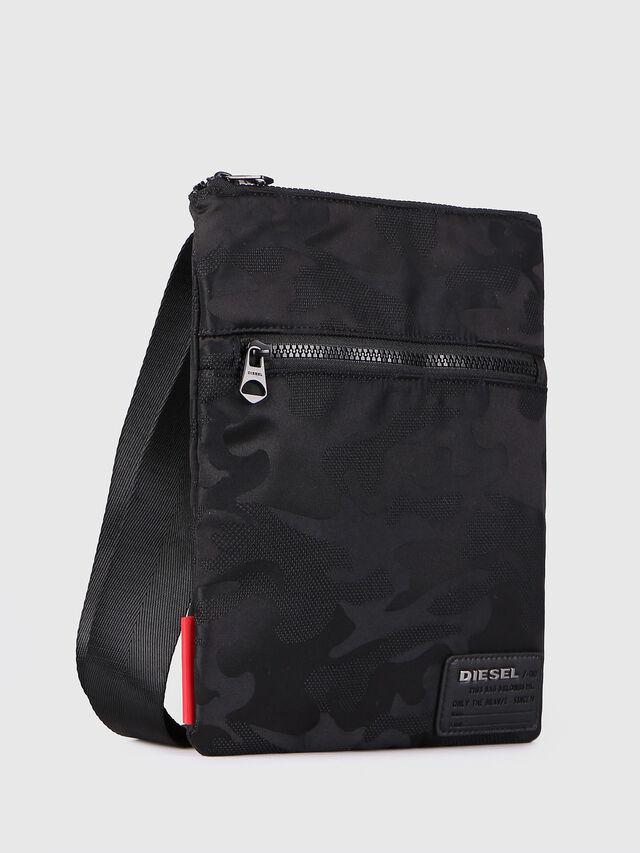 Diesel - F-DISCOVER CROSS, Black - Crossbody Bags - Image 2