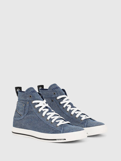 Diesel - EXPOSURE I, Blue Jeans - Sneakers - Image 2