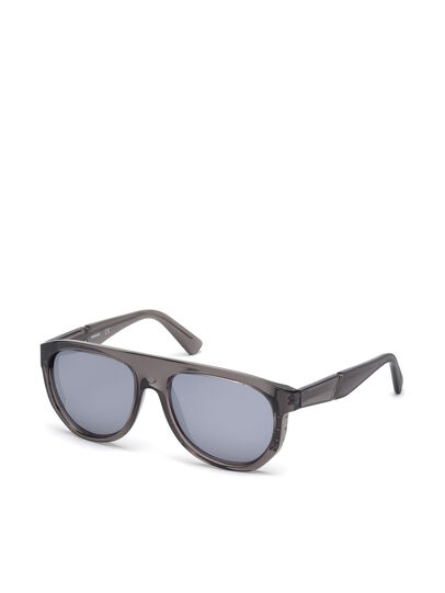 Diesel - DL0255, Grey - Sunglasses - Image 4