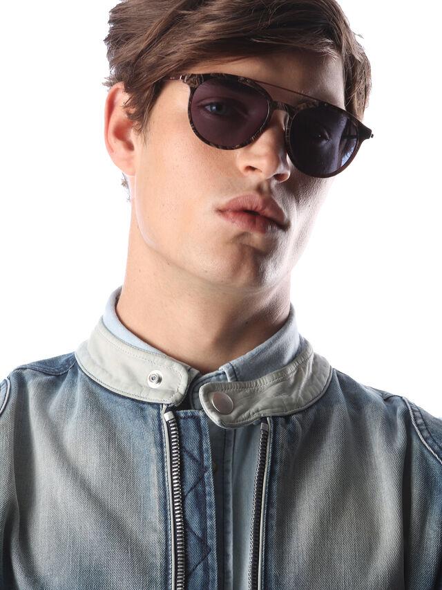 Diesel DM0188, Brown - Eyewear - Image 5