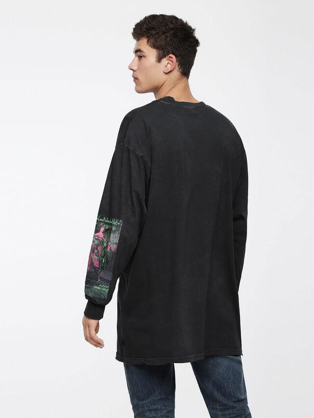 Diesel T-LUCAS-LS-XF, Black - T-Shirts - Image 2