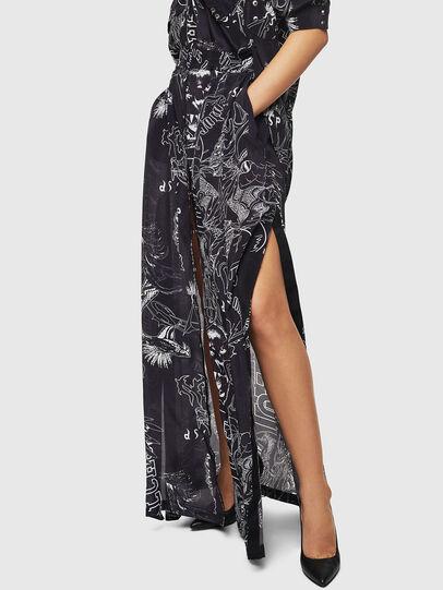 Diesel - O-MOYA-A, Black - Skirts - Image 4