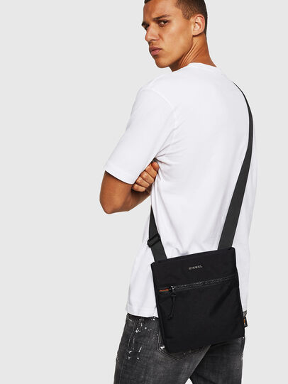 Diesel - F-URBHANITY CROSS, Black - Crossbody Bags - Image 6