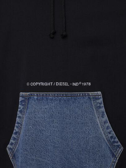 Diesel - S-THOS, Black - Sweaters - Image 4