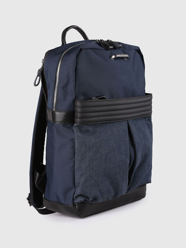 Diesel - M-PROOF BACK, Blue Jeans - Backpacks - Image 3