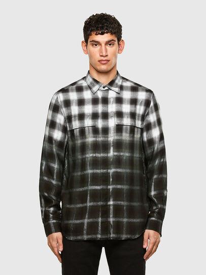 Diesel - S-KEITH, Black/White - Shirts - Image 1