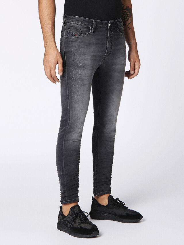 SPENDER JOGGJEANS 084NA, Black Jeans