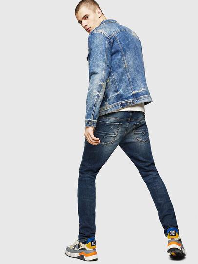 Diesel - Thommer 083AC, Dark Blue - Jeans - Image 6