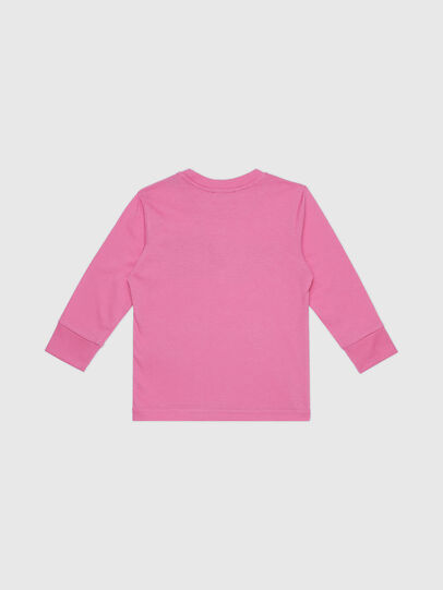 Diesel - TDIEGOCUTYB-FL ML-R, Pink - T-shirts and Tops - Image 2