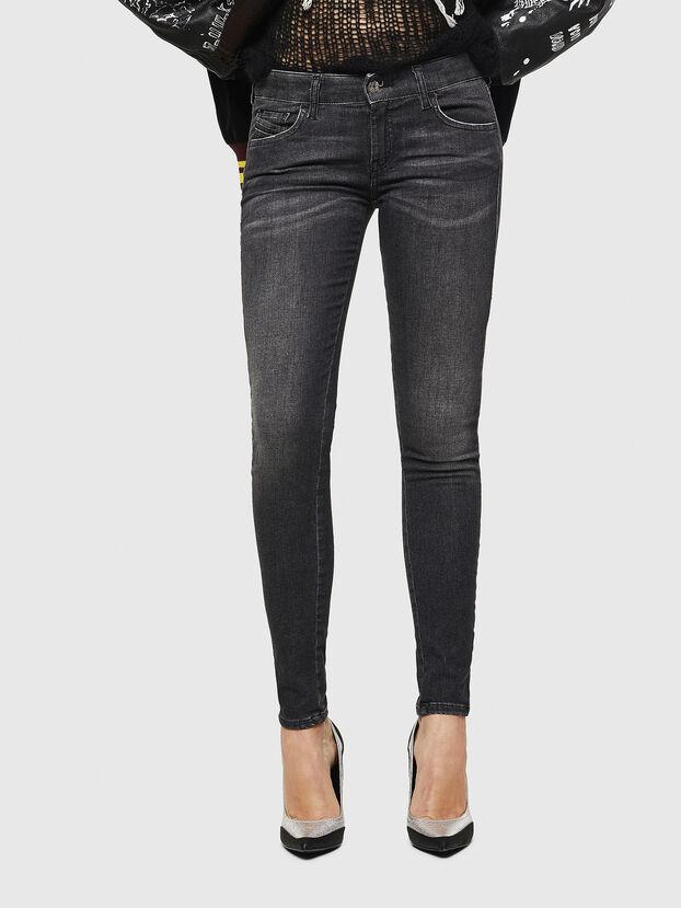 Slandy Low 083AI, Black/Dark grey - Jeans