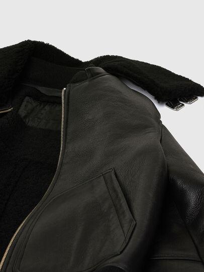 Diesel - L-ARNOLD, Black - Leather jackets - Image 8