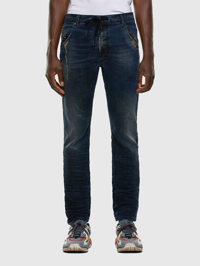 Diesel - Krooley JoggJeans 069NP, Dark Blue - Jeans - Image 1