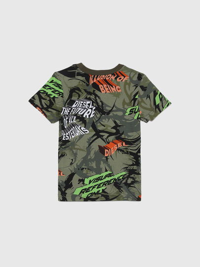 Diesel - TESEOB-R, Military Green - T-shirts and Tops - Image 2